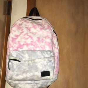 Vans Blue and pink tie-dye school bag